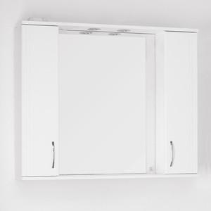 Зеркало-шкаф Style line Панда 100 с подсветкой, белый (2000948981339)