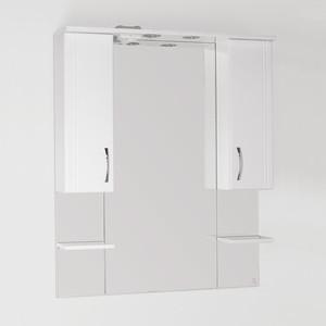 Зеркало-шкаф Style line Энигма 90 с подсветкой, белый (2000949017341)