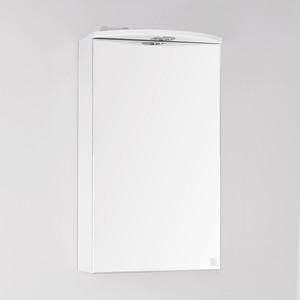 Зеркальный шкаф Style line Альтаир 40 с подсветкой, белый (2000949080642)