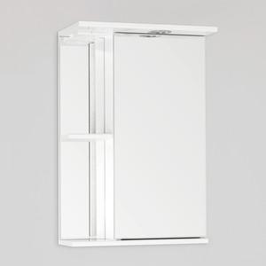 Зеркальный шкаф Style line Николь 45 с подсветкой, белый (2000949007120)