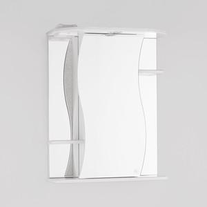 Зеркальный шкаф Style line Лилия 55 с подсветкой, белый (2000001713099)