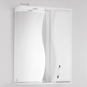 Зеркало-шкаф Style line Панда Волна 60 с подсветкой, белый (2000949039916)