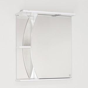 Зеркальный шкаф Style line Камелия 60 с подсветкой, белый (2000947090018)