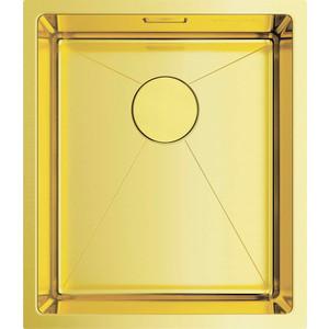 Кухонная мойка Omoikiri Taki 38-U/IF-LG светлое золото (4973092)