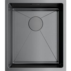 Кухонная мойка Omoikiri Taki 38-U/IF-GM вороненая сталь (4973106) кухонная мойка omoikiri taki 54 u if gm 540x440 вороненая сталь 4973107