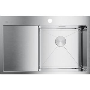 Кухонная мойка Omoikiri Akisame 78-IN-R нержавеющая сталь (4973061)