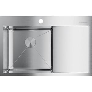 Кухонная мойка Omoikiri Akisame 78-IN-L нержавеющая сталь (4973060)