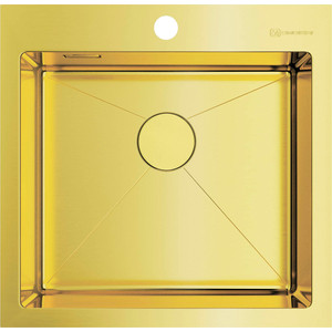 Кухонная мойка Omoikiri Akisame 51-LG светлое золото (4973439) мойка кухонная omoikiri akisame 41 lg 410 510 светлое золото 4973080