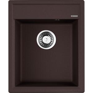 Кухонная мойка Omoikiri Daisen 42-DC темный шоколад (4993605)