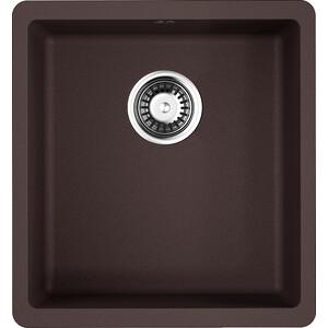 Кухонная мойка Omoikiri Kata 40-U-DC 400x420 темный шоколад (4993395)