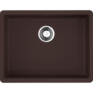 Кухонная мойка Omoikiri Kata 54-U-DC темный шоколад (4993409)