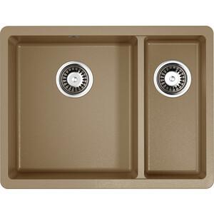 Кухонная мойка Omoikiri Kata 55-2-U-CA карамель (4993385)