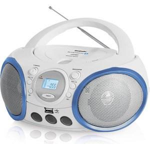 Магнитола BBK BX150BT белый/голубой цены онлайн