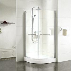 Душевой уголок IDDIS Elansa 90x90 прозрачный, хром (E20R099i23) душевая стойка iddis elansa shower elasb3fi76