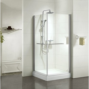 Душевой уголок IDDIS Elansa 90x90 прозрачный, хром (E10S099i23) душевая стойка iddis elansa shower elasb3fi76