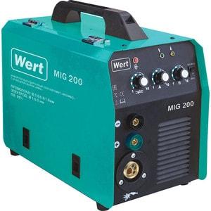 Купить со скидкой Инверторный сварочный полуавтомат Wert MIG 200