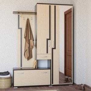 Прихожая Гранд Кволити Калипсо 2-31М3 венге/дуб млечный (шкаф справа)