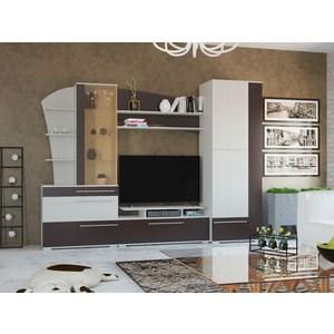 Стенка Гранд Кволити Глория 6-565 рамух белый/венге гранд кволити стенка для гостиной венеция 6 915