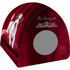 Купить Домик PerseiLine Дизайн Вигвам Щенок на подушке для собак 40*40*39 см (31147/ДМД-3)