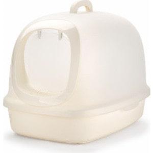 Туалет Makar бокс закрытый белый для кошек 62x46x46 см (МАК41)