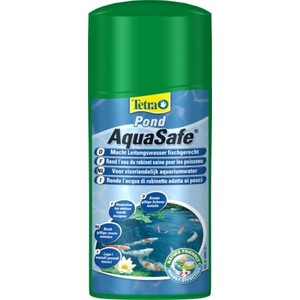 Кондиционер Tetra Pond AquaSafe Makes Tap Water Safe for Pond Fish подготовка воды для пруда 500мл