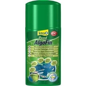 Препарат Tetra Pond AlgoFin Effectively Treats Blanket Weed для эффекивной борьбы с нитчатыми водорослями в пруду 1л