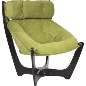 Кресло для отдыха Мебель Импэкс МИ Модель 11 венге каркас венге, обивка Verona Apple Green