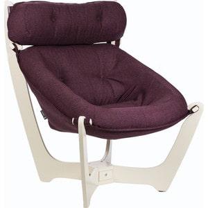цена на Кресло для отдыха Мебель Импэкс МИ Модель 11 дуб шампань, обивка Falcone Purple