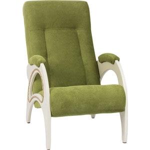 Кресло для отдыха Мебель Импэкс МИ Модель 41 дуб шампань, обивка Verona Apple Green
