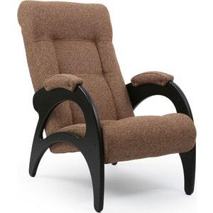 Кресло для отдыха Мебель Импэкс МИ Модель 41 б/л венге, обивка Malta 17