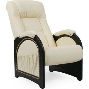 Кресло для отдыха Мебель Импэкс МИ Модель 43 венге, обивка Dundi 112