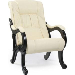 Кресло для отдыха Мебель Импэкс МИ Модель 71 венге, обивка Dundi 112