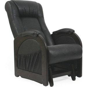 Кресло-качалка глайдер Мебель Импэкс МИ Модель 48 венге без лозы, обивка Dundi 109
