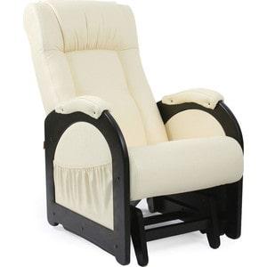 Кресло-качалка глайдер Мебель Импэкс МИ Модель 48 венге без лозы, обивка Dundi 112