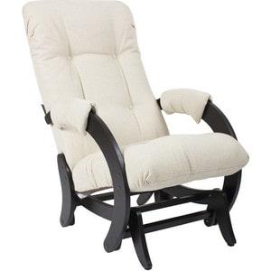Кресло-качалка глайдер Мебель Импэкс МИ Модель 68 Malta 01 А венге