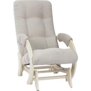 Кресло-качалка глайдер Мебель Импэкс МИ модель 68 дуб шампань, Verona light grey