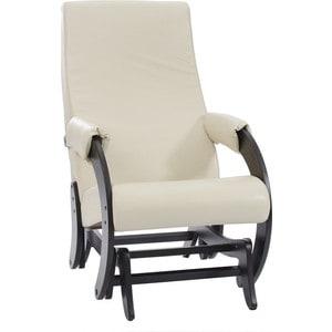 Кресло-качалка глайдер Мебель Импэкс МИ Модель 68М венге, Polaris Beige