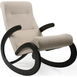 Кресло-качалка Мебель Импэкс МИ Модель 1 венге, обивка Malta 01 А фото