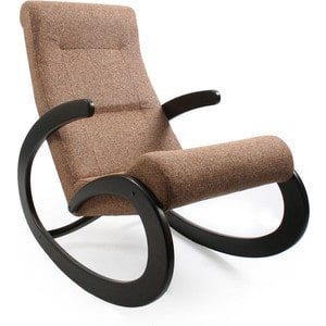 Кресло-качалка Мебель Импэкс МИ Модель 1 венге, обивка Malta 17 кресло для отдыха мебель импэкс комфорт модель 41 б л венге обивка malta 17