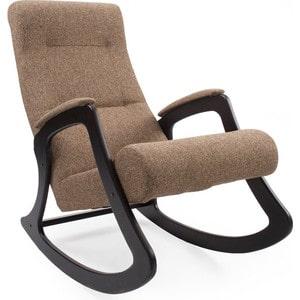 Кресло-качалка Мебель Импэкс МИ Модель 2 венге, обивка Malta 17 кресло для отдыха мебель импэкс комфорт модель 41 б л венге обивка malta 17