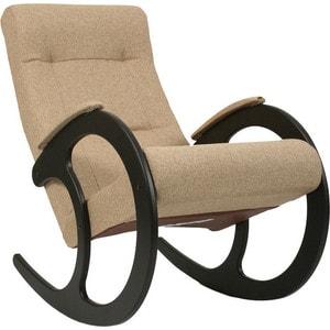 Кресло-качалка Мебель Импэкс МИ Модель 3 венге, обивка Malta 03 А