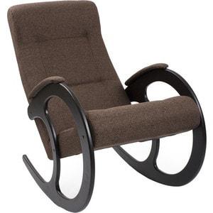 Кресло-качалка Мебель Импэкс МИ Модель 3 венге, обивка Malta 15 А