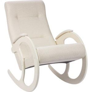 Кресло-качалка Мебель Импэкс МИ Модель 3 дуб шампань, обивка Malta 01 А цена