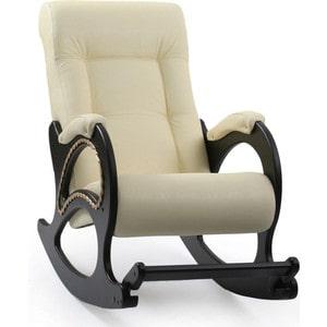 Кресло-качалка Мебель Импэкс МИ Модель 44 венге, обивка Dundi 112