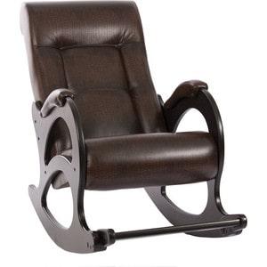 Кресло-качалка Мебель Импэкс МИ Модель 44 б/л венге, обивка Antik crocodile