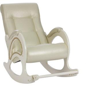 Кресло-качалка Мебель Импэкс МИ Модель 44 дуб шампань, обивка Oregon perlamutr 106 цена