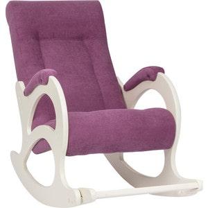 Кресло-качалка Мебель Импэкс МИ Модель 44 б/л дуб шампань, обивка Verona cyklam цена