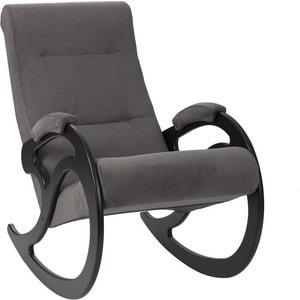 Кресло-качалка Мебель Импэкс МИ Модель 5 венге, обивка Verona Antazite Grey кресло качалка мебель импэкс ми модель 77 венге обивка verona brown