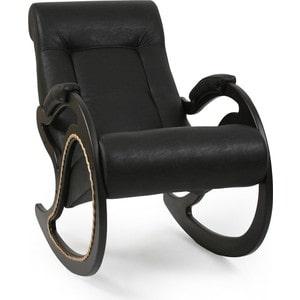 Кресло-качалка Мебель Импэкс МИ Модель 7 венге, обивка Dundi 109 кресло качалка глайдер мебель импэкс ми модель 48 венге без лозы обивка dundi 109