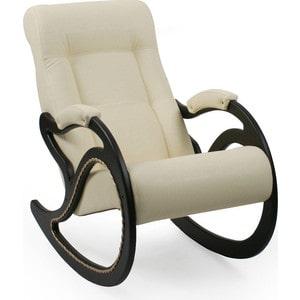 Кресло-качалка Мебель Импэкс МИ Модель 7 венге, обивка Dundi 112